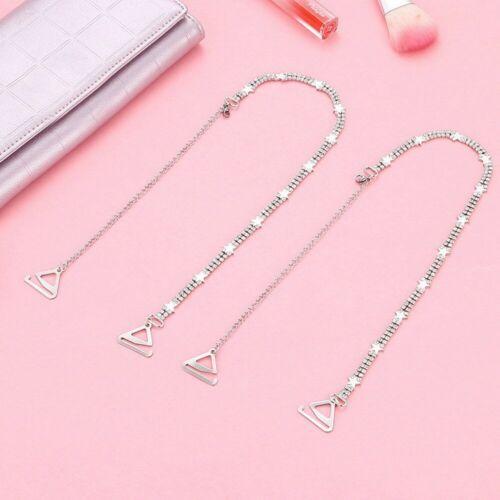 Clear Transparent Hook Straps Invisible Adjustable Bra Shoulder Wedding Straps