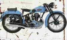 Bianchi ES250 1937 Aged Vintage SIGN A4 Retro