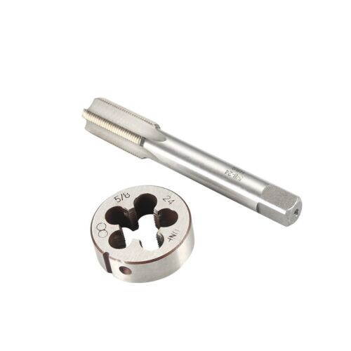KISENG 5//8-24 UNEF Right Hand Tap with Round Die