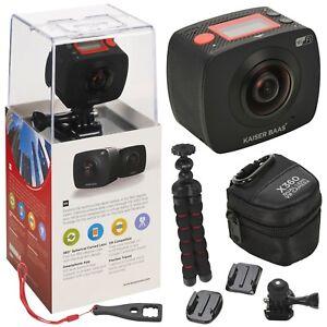 Kaiser-Baas-X360-VR-360-Action-Camera-DVR-Sports-Helmet-Cam-Camcorder-Cycling