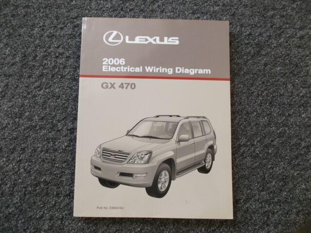 2006 Lexus Gx470 Gx 470 4wd Electrical Wiring Diagram Shop
