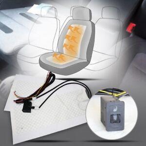 Auto Carbon Sitzheizung Universal Kfz Pkw 5 Stufen für VW Lupo BUS T4