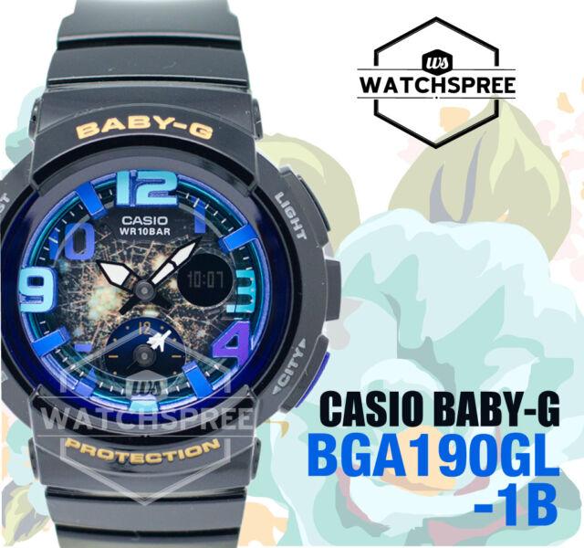 Casio Baby-G Beach Traveler Series Watch BGA190GL-1B AU FAST & FREE*