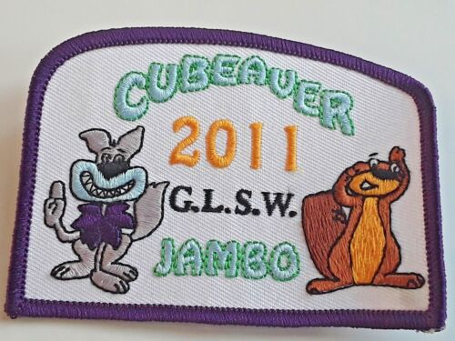 Greater London South West Scout County Cubeaver Jambo 2011 badge Cub Beaver
