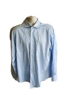 Brooks Brothers 346 Mens Slim Fit Non Iron L/S Button Down Shirt Size 15.5-4/5