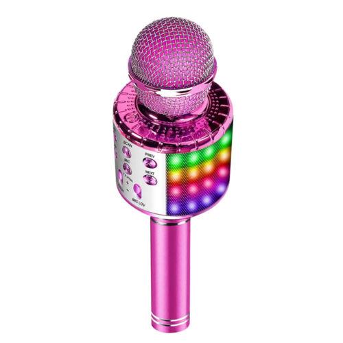 Wireless BT Karaoke Mikrofon Lautsprecher Handheld Mic KTV Microphone N3N0