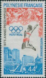 French-Polynesia-1975-Sc-C120-SG203-44f-Olympic-Games-Montreal-MNH