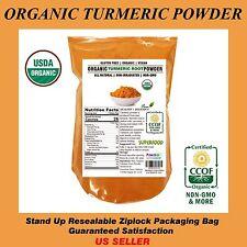 1 LB ORGANIC 100% Pure TUMERIC Root Powder (Curcuma Longa) TURMERIC,US SELLER