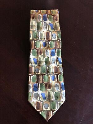 One Size Neck Tie. Multicoloured Jerry Garcia Mens Grateful Dead Necktie