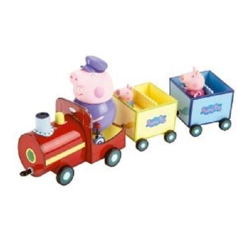 Peppa Pig on Grandpa Grandpa Grandpa Pig's Train 7f90ed