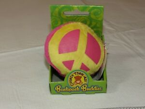 Backpack Buddies Peace Sign BPBASST for Backpack luggage key ring or jacket NEW