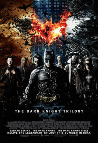 BatMan Movie The Dark Knight Trilogy Poster Art Fabric Decor 185