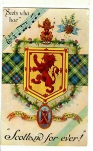 Scotland-for-ever-scots-wha-hae-National-Series-early-1900s-Unposted