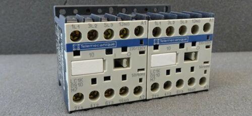 2x Leistungsschütz Telemecanique LC1K0910M7 Contactor Schütz 4kW Spule 220V//230V