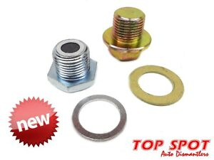 Toyota-new-filler-and-drain-plug-kit-fits-gearbox-T-case-amp-diff-Lcruiser-Hilux