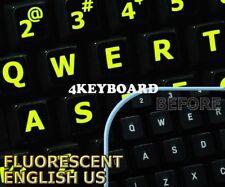 New Glowing fluorescent English US(LL) keyboard sticker