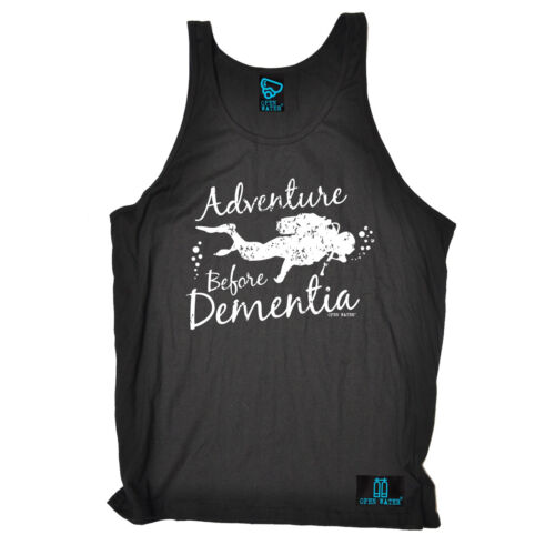 Adventure Before Dementia Diving Uni Vest Scuba Dive Gear Funny birthday gift