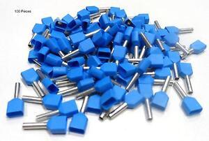 2,5/mm bleu Lot de 100 embouts pour fil souple