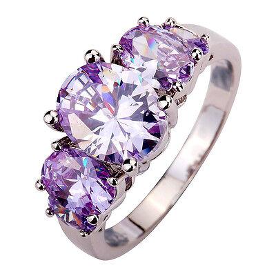 Tourmaline Gemstones Silver Ring Size 6 7 8 9 10 11 12 13 Fashion Jewelry Women