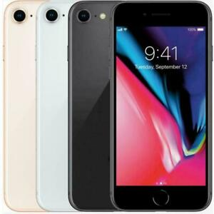 Apple iPhone 8 256GB Factory GSM Unlocked T-Mobile AT&T Smartphone - All Colors