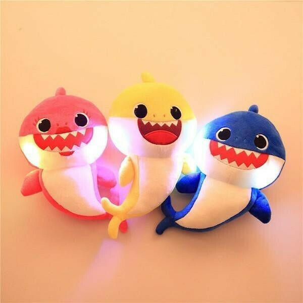 Baby Shark Singing And Light-up Plush Toy