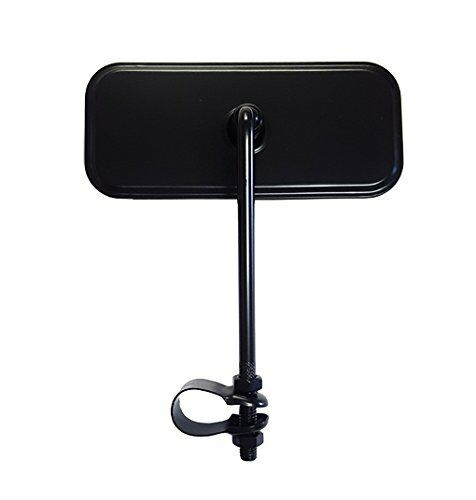 "Bicycle Mirror Rectangle Black fits 7//8/"" Standard Handlebars"