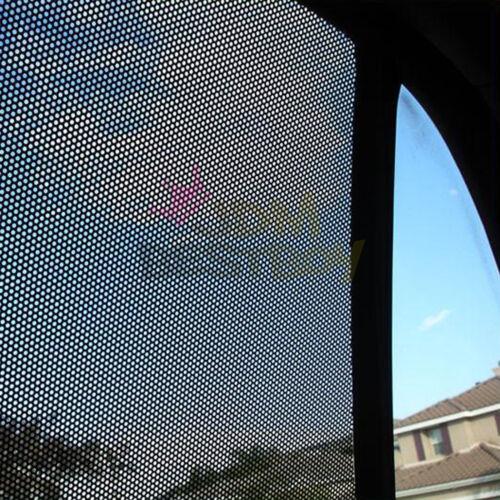 "*42/""x96/"" Black Perforated One Way Vision Print Media Vinyl Window Sticker Film"