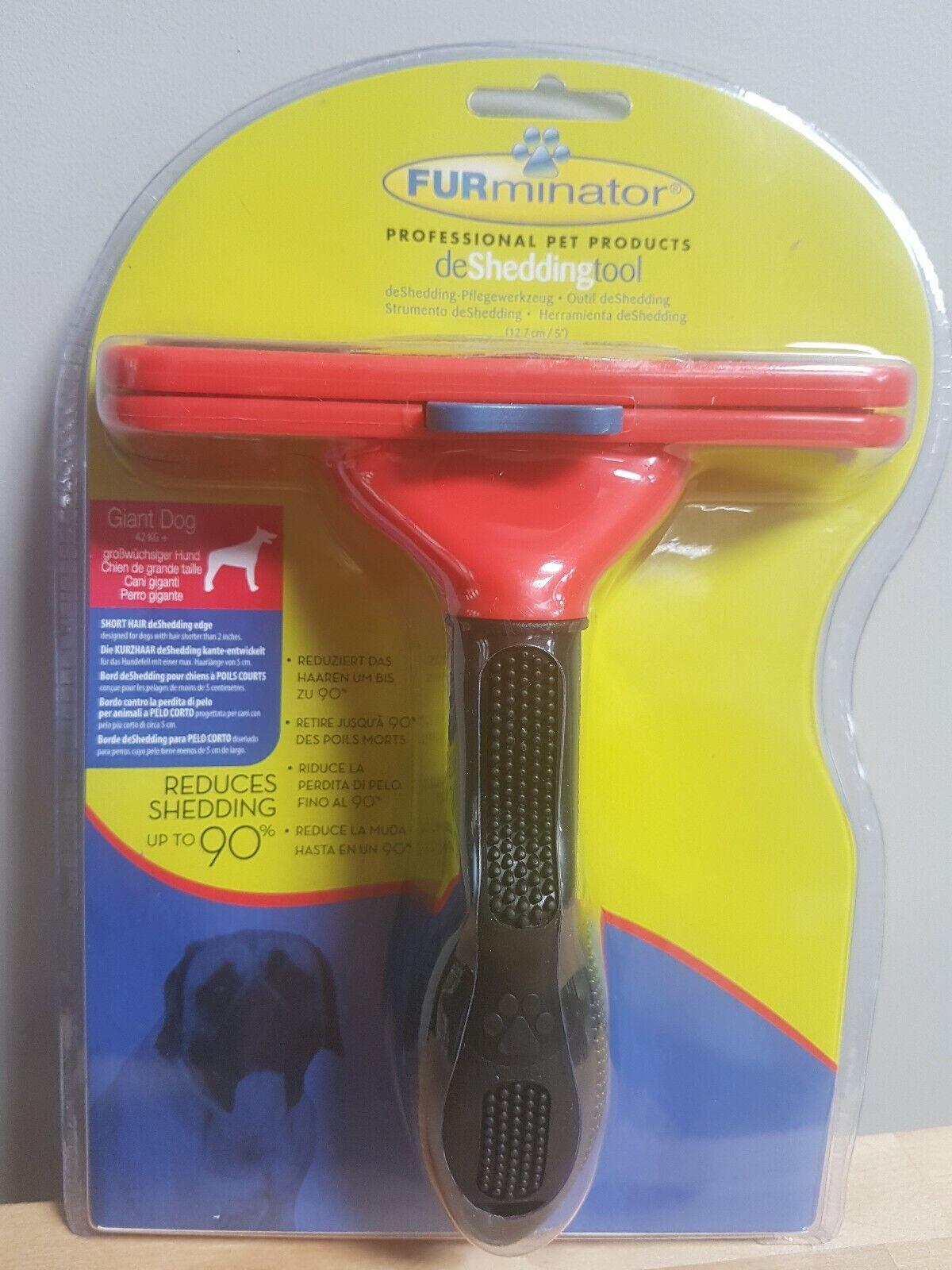 Furminator Deshedding Tool Giant Dog - Accessories  - Dog & Cat Grooming Combs &