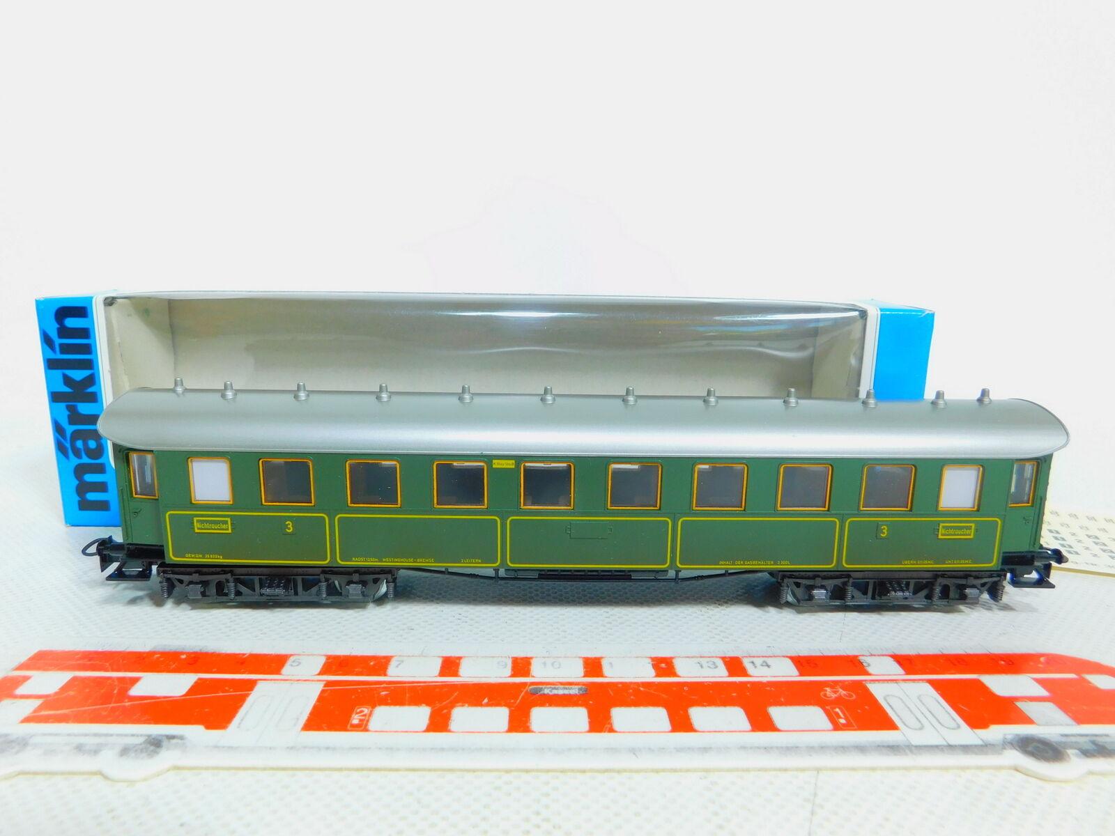 BY521-0,5  Märklin H0 AC 4135 Personenwagen D-Zug-Wagen K.Bay.Sts.B.; OVP  | Ein Gleichgewicht zwischen Zähigkeit und Härte