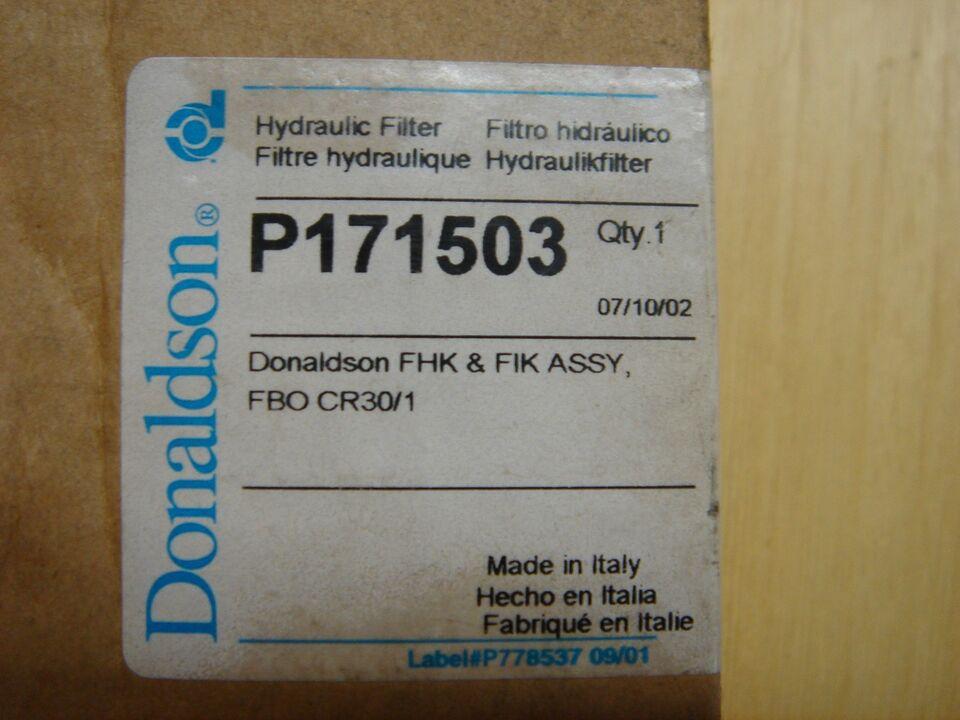 Hydraulik oliefilter, Donaldson
