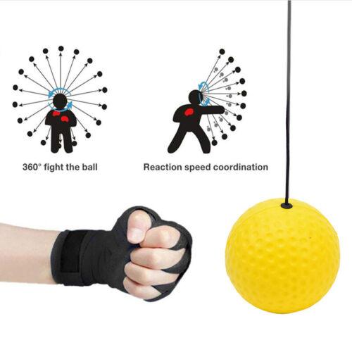 Boxing Fight Ball Training Accessories Equipment Reflex Speed Ball Muay TALUK
