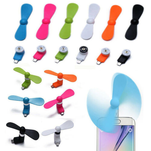 Portable Cell Phone Mini Fan Cooling Cooler For Phone Micro USB Android ZP