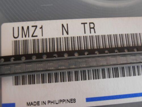 50PCS UMZ1NTR NPN//PNP 50 V 150 mA SOT363//UMT6 ROHM