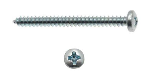 INOX TEC 8 viti autofilettanti con testa cilindrica misura 4,2x50 mm in acciaio