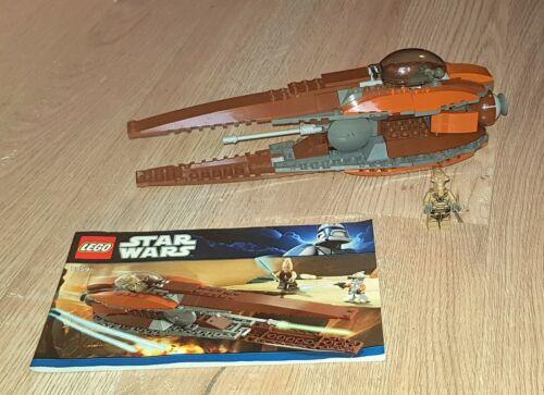 1 Figur LEGO Star Wars 7959 Geonosian Starfighter inkl
