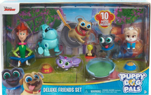 Giochi Preziosi DISNEY CHANNEL PUPPY DOG PALS 10 PERSONAGGI DELUXE