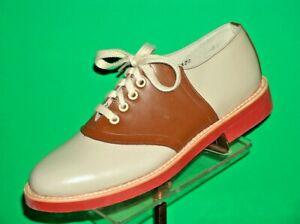 Stewart-Marshall-Classic-Leather-Saddle-Shoes-Men-039-s-NIB-soap-and-saddle