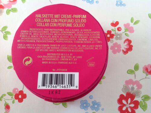 Neue ⭐ Viva La Juicy ⭐ Juicy Couture Solid Perfume Necklace ⭐  wJ3fw tvVlp