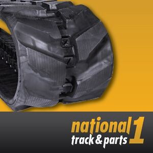 Details about Komatsu PC78, PC78US, and PC78MR-6 Rubber Tracks -  450x83 5x74, Excavator Track