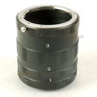 Macro Extension Tube Ring Set Adapter For CANON EOS EF DSLR & SLR Camera