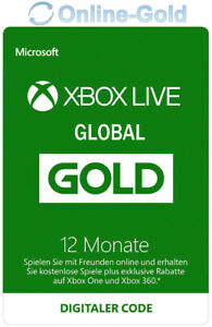 12-Monate-XBOX-Live-Gold-Mitgliedschaft-Code-Microsoft-ONE-360-GLOBAL-VERSION