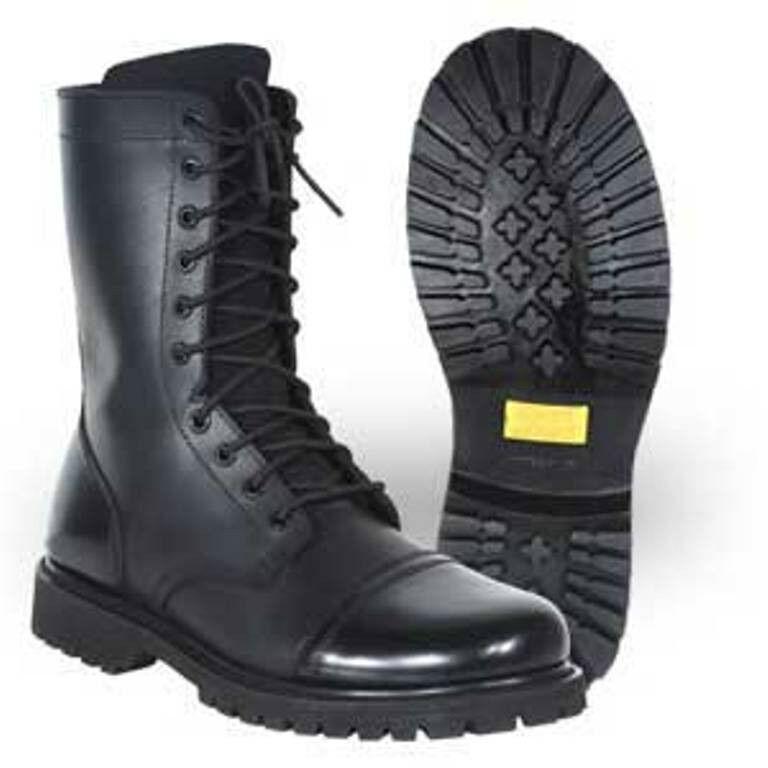 SALE - Work Zone 10  Side Zipper Combat Boot -N921