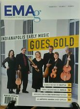 EMAg Summer 2016 Indianapolis Early Music Goes Gold Seattle FREE SHIPPING sb