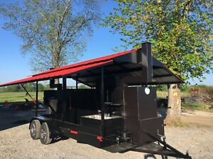 T-Rex-with-Sink-Roof-BBQ-Smoker-Cooker-Grill-Trailer-Mobile-Food-Truck-Business