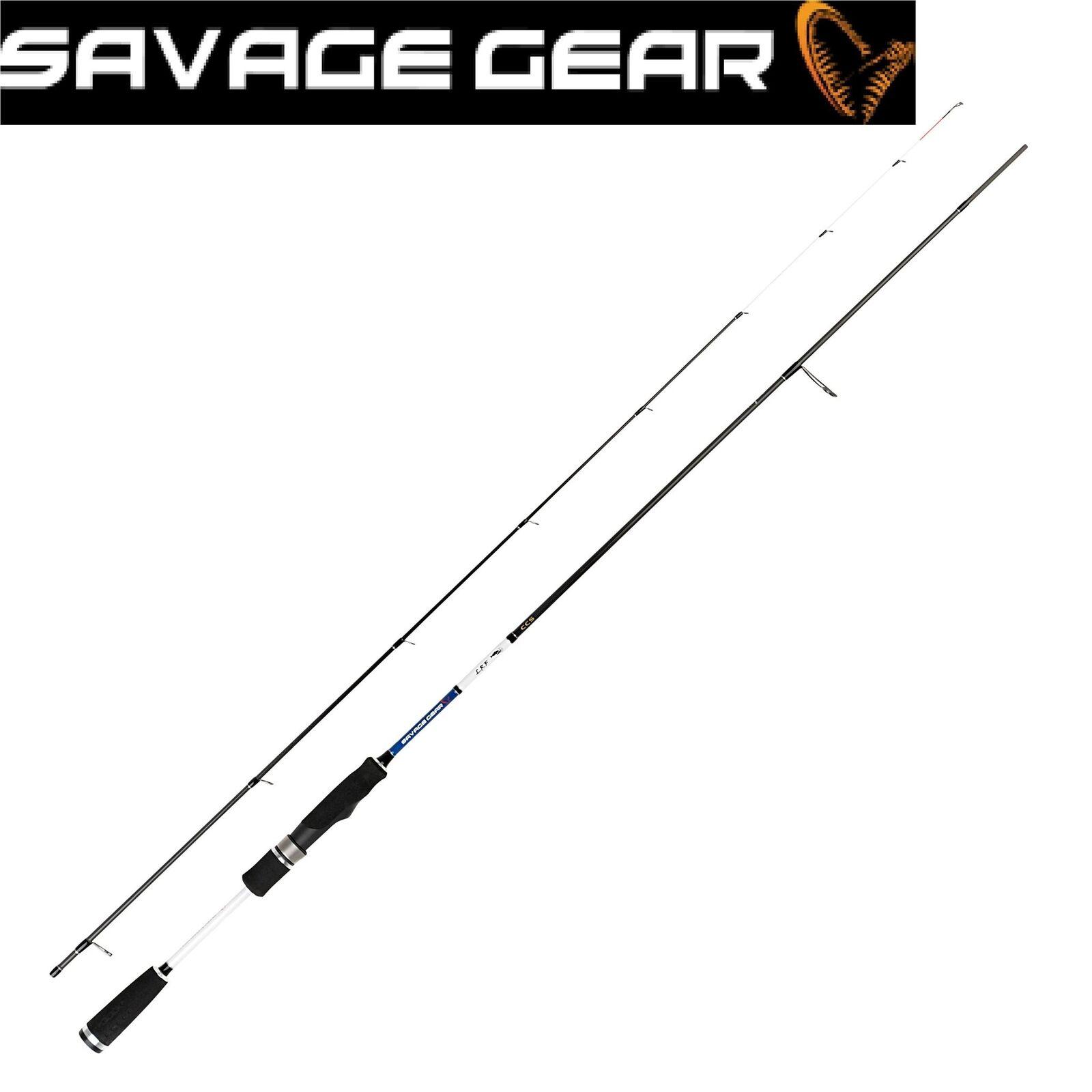Savage Gear Lrf Ccs Pêche Spinning Canne 6' 15.2cm 198cm  8' 244cm Varié Dimensiones