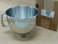 W10676080 OEM 5-Qt. Bowl, Polished Stainless with Comfort Handle by Whirlpool