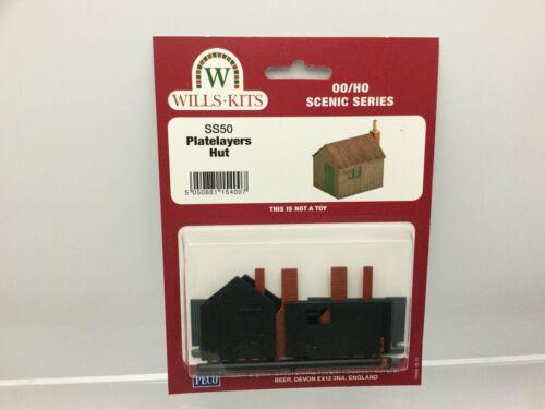 Wills SS50 OO Gauge Platelayers Hut Kit