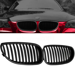 Matte-Black-Front-Sport-Kidney-Grille-Grill-For-BMW-E60-E61-5-Series-M5-03-10