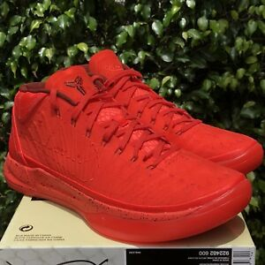 free shipping 07ead 00ab6 ... authentic image is loading nike kobe ad mid passion habanero red black  41cf8 2536c