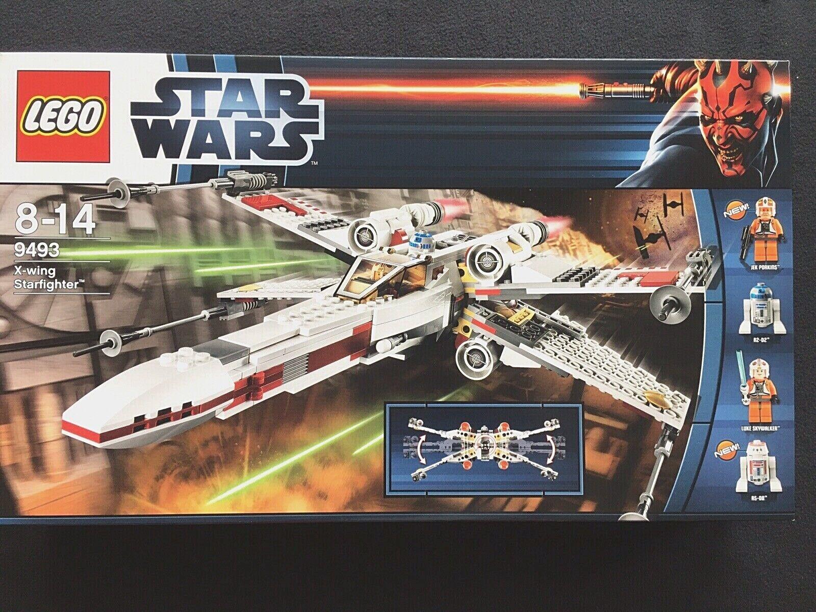Nuevo LEGO 9493 Estrella Wars X-Wing Estrellafighter nuevo y en caja sellada completa Set retirado rara
